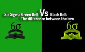 Difference between Green Belt and Black Belt Project