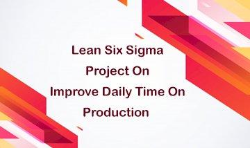 Black Belt Improve Daily Time On Production By Advance Innovation Group